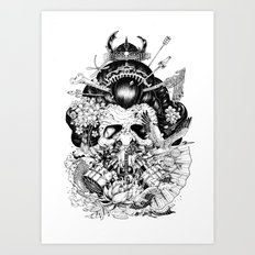 Legendary Art Print