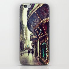 Christmas on 5th Avenue iPhone & iPod Skin