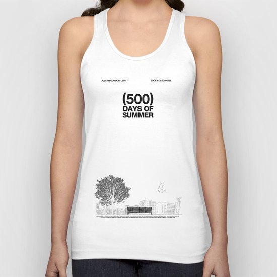 (500) Days of Summer Unisex Tank Top