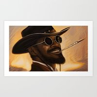 Django - Our Newest Trol… Art Print