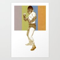 GORILLA PUNCH! Art Print