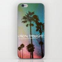 Warm Thoughts iPhone & iPod Skin