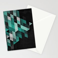 dryma mynt Stationery Cards