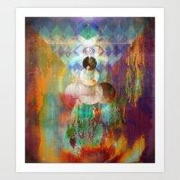 Shakti - Mystic Roots Art Print