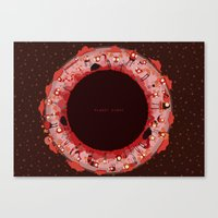 Planet Eight Canvas Print