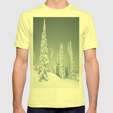 Winter Day 2 Mens Fitted Tee Lemon SMALL