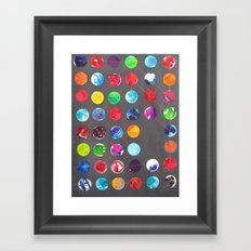 Cycles Framed Art Print