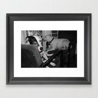 Where's The Dealer Framed Art Print