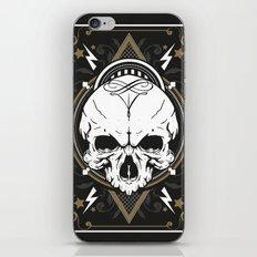 Skull design iPhone & iPod Skin