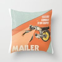 Mailer Barbary Throw Pillow