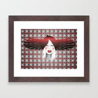 MonGhostX - Close, Fly. Dreams... of a free world ! Peace. Framed Art Print