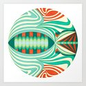 The Only Fish In The Sea Art Print