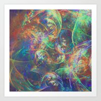 fractal Art Prints featuring Fractal by Asya Solo