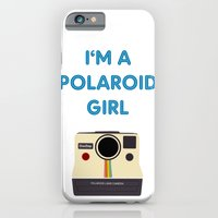 iPhone & iPod Case featuring Polaroid Girl - Offshoot print by mrs eliot books