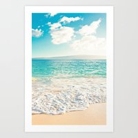 Big Beach Art Print