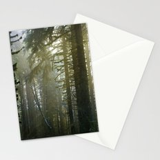 Foggy Forest #evergreen Stationery Cards