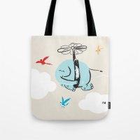 When Elephants Dream Tote Bag