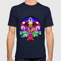Erik L & Illingsworth - … Mens Fitted Tee Navy SMALL