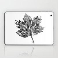 Zentangle Leaf Laptop & iPad Skin