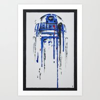 Art Prints featuring A blue hope 2 by SMAFO