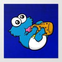 Cookie Juice Canvas Print