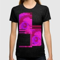 Unforget Womens Fitted Tee Tri-Black SMALL
