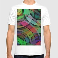 Shapes#3 Mens Fitted Tee White SMALL