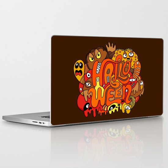 Happy Halloween! Laptop & iPad Skin
