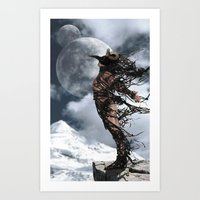 The Shedding Of Darkness 2 Art Print