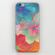 Between The Lines - Trop… iPhone & iPod Skin
