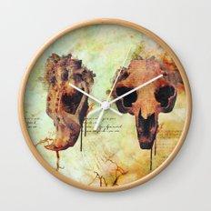 Crânio Dissonia Wall Clock