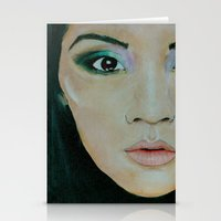 THE EURASIAN GIRL Stationery Cards