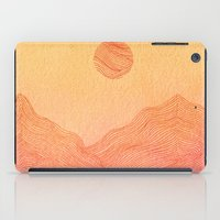 Sunset Mountain - 2 iPad Case