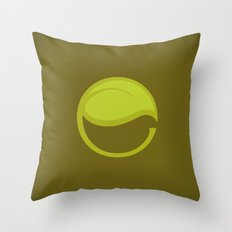 East Leaf Lake Throw Pillow