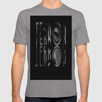 terror. Mens Fitted Tee Athletic Grey SMALL