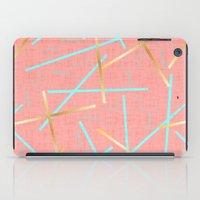 Golden Flamingo iPad Case
