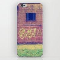 Smile! :) iPhone & iPod Skin