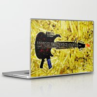 Laptop & iPad Skin featuring ROCK AND ROLL - 017 by Lazy Bones Studios
