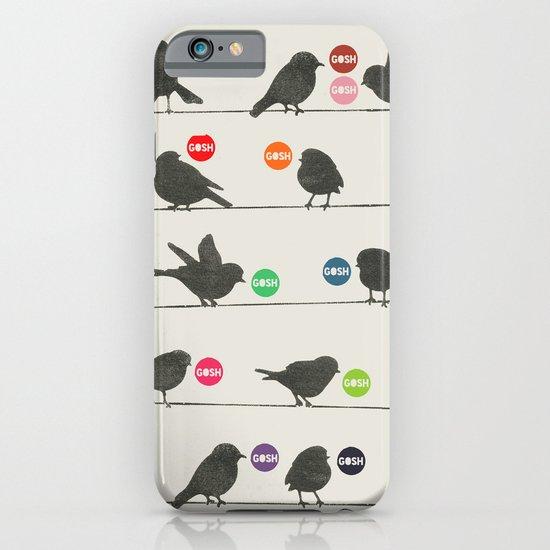 Birdsong Gosh by Rachel Burbee & Garima Dhawan iPhone & iPod Case