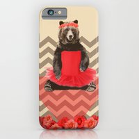 the bear who wanted to become a dancer iPhone 6 Slim Case