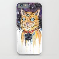 iPhone & iPod Case featuring Space Cat by scoobtoobins