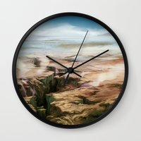 Plains Wall Clock