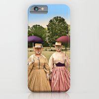 Two Pretty Kitties: Out for a Stroll iPhone 6 Slim Case