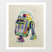 R2 Art Print