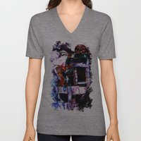 The Seated Woman Unisex V-Neck