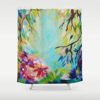 BLISS - Stunning Bold Co… Shower Curtain