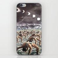 Moon Salutation iPhone & iPod Skin