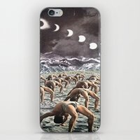 Moon Salutation iPhone & iPod Skin