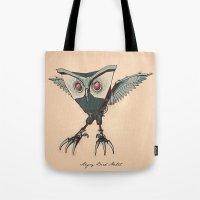 ANGRY BIRD METAL Tote Bag