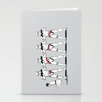 a Rebel Since She Was Young - US AND THEM Stationery Cards